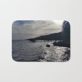 A Stormy Lake Tahoe Day Bath Mat