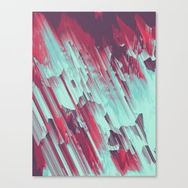 Cold From Above Canvas Print