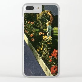 A gardeners work Clear iPhone Case