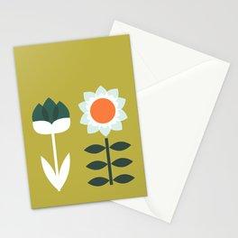 Set Sun Olive Stationery Cards