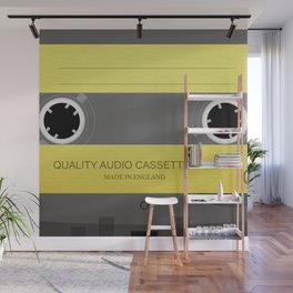 Quality Cassette Wall Mural