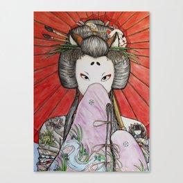 Kuzunoha Canvas Print