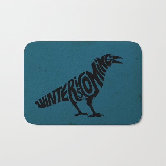 The three-eyed crow Bath Mat