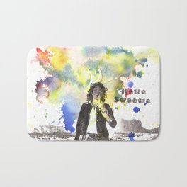 Riversong From Doctor Who Hello Sweetie Bath Mat