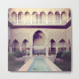 Real Alcazar Metal Print