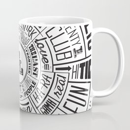 TenderLoin San Francisco Type Wheel Coffee Mug