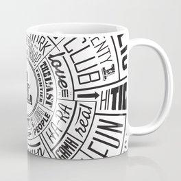 TenderLoin San Francisco Type Wheel Coffee Mug