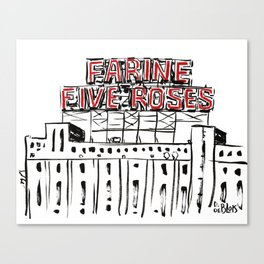 Five Roses Canvas Print