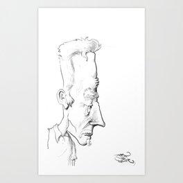 Long Face #1 Art Print