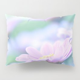 Soft Pink Marguerite Daisy Flower #2 #decor #art #society6 Pillow Sham