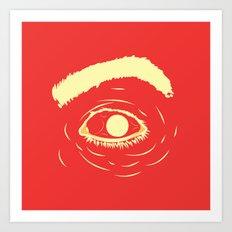 The Terror I Art Print