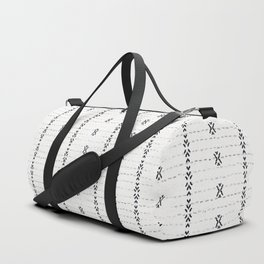 FRENCH LINEN STRIPE Duffle Bag
