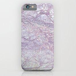 Purple Marble iPhone Case