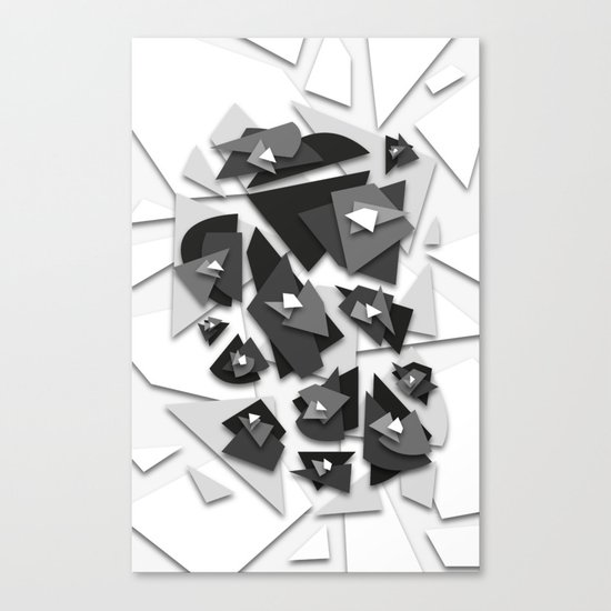 Effecting Geometry Canvas Print