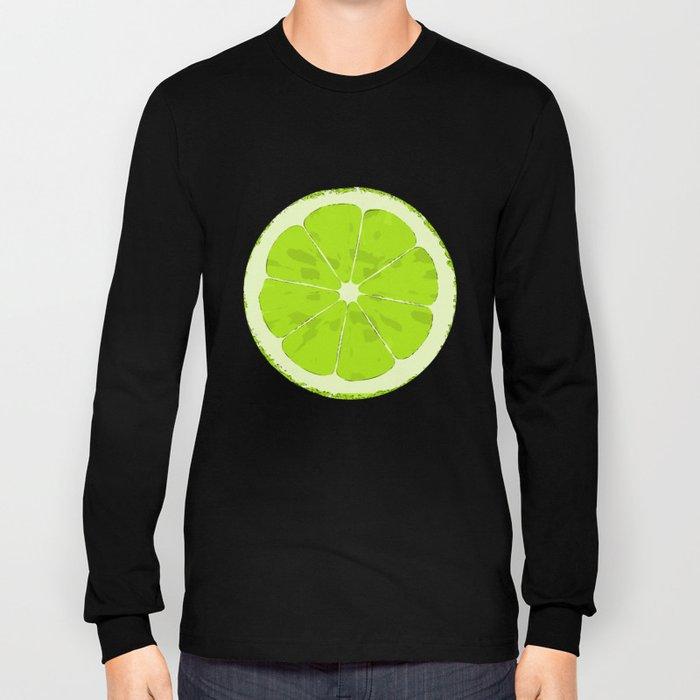 Lime Long Sleeve T-shirt