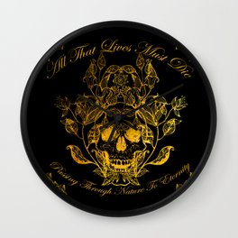 All That Lives Wall Clock