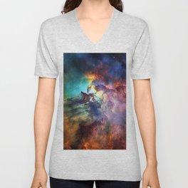 Lagoon Nebula Unisex V-Neck