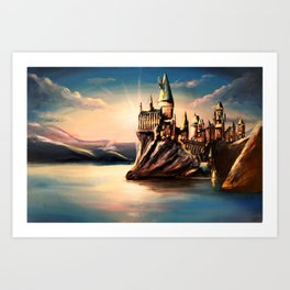Magical Dawn Art Print