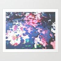splatter Art Prints featuring Splatter by RDesigns