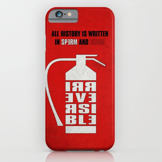 Irreversible iPhone & iPod Case