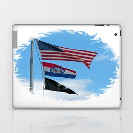 Iron County Flags Laptop & iPad Skin