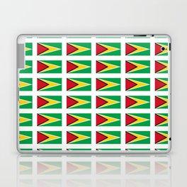 Flag of Guyana -Guyanese,Guyanes,Georgetown,Linden,Waiwai Laptop & iPad Skin