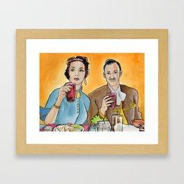 Buen Provecho Framed Art Print