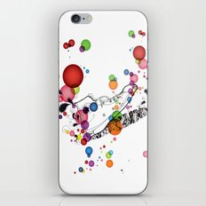 Rolly pop shoes iPhone Skin