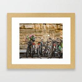 Italian Bicycles Framed Art Print