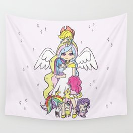 My Little Pony (chibi version) Wall Tapestry