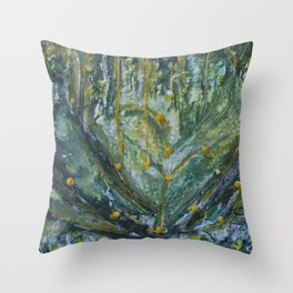 Mustard Seed Throw Pillow