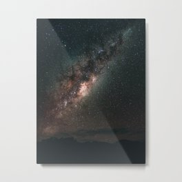 Warrumbungles Milky Way Metal Print