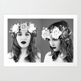 Wayward Girl, 2.0 Art Print