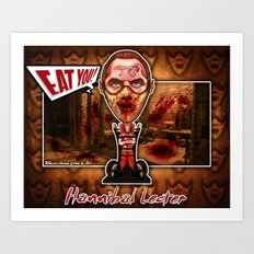 Hannibal Lecter! Art Print