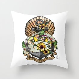 Taco Bout Love Throw Pillow
