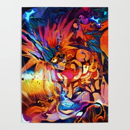 Colorful Boros Poster