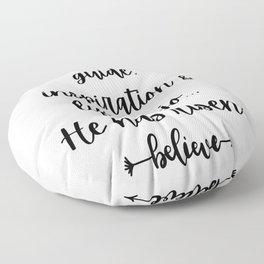 Jesus is my guide, inspiration & life Mojo... He has risen !! BK Floor Pillow