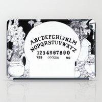 ouija iPad Cases featuring Voodoo Ouija. by Jessica Bowman Illustrates