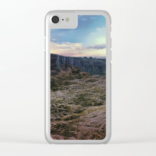Somerset Sunset Clear iPhone Case