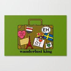 Wanderlust King Canvas Print