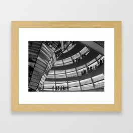 Berlin Reichstag Building, Germany. Framed Art Print