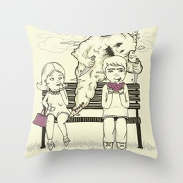 Silent But Deadly (SBD) Throw Pillow