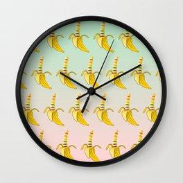 Gay Pride Banana Wall Clock