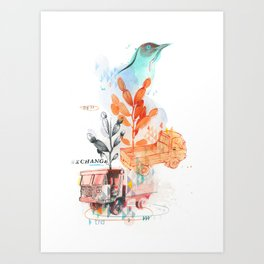 Transport 2 Art Print