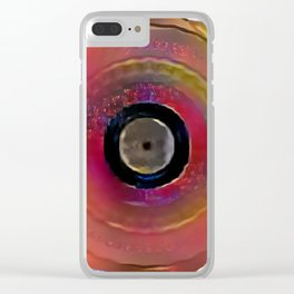 "Some Other Mandala 986mod ""Such Shame"" Clear iPhone Case"