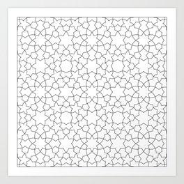 Minimalist Geometric 101 Art Print