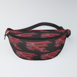 DR-1 Red Baron Triplane WWI Warbird Fanny Pack