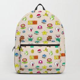 Mario pattern Backpack