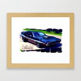 AMC Javelin Framed Art Print