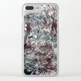 Utopia There Clear iPhone Case